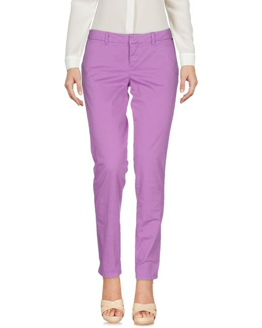 Guess - Multicolor Casual Trouser - Lyst