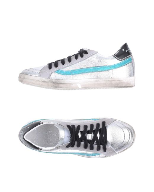 Primabase - Metallic Low-tops & Sneakers - Lyst