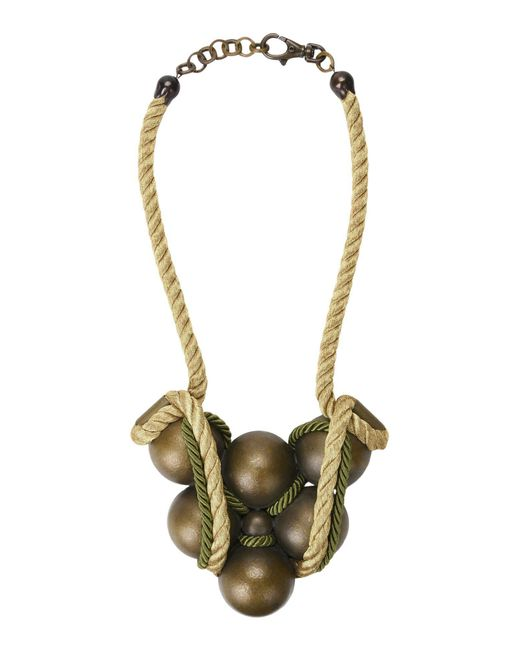 First People First - Green Necklaces - Lyst