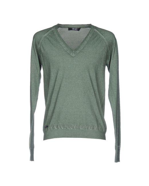 Liu Jo - Green Sweaters for Men - Lyst