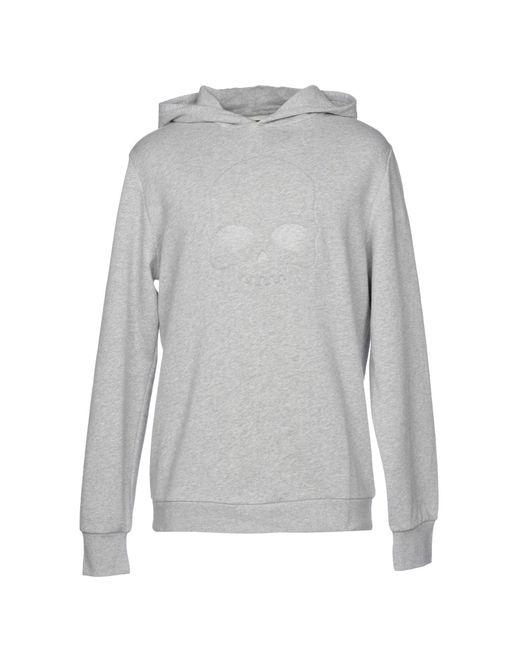 Hydrogen - Gray Sweatshirt for Men - Lyst