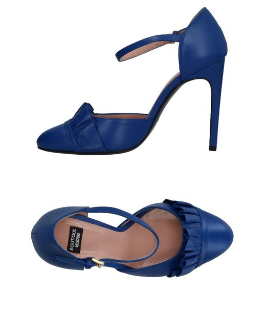 Boutique Moschino - Blue Pumps - Lyst