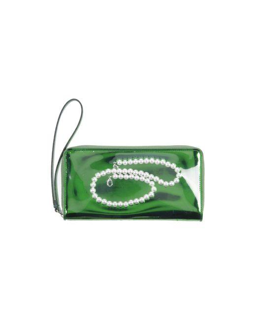 MM6 by Maison Martin Margiela - Green Wallet - Lyst