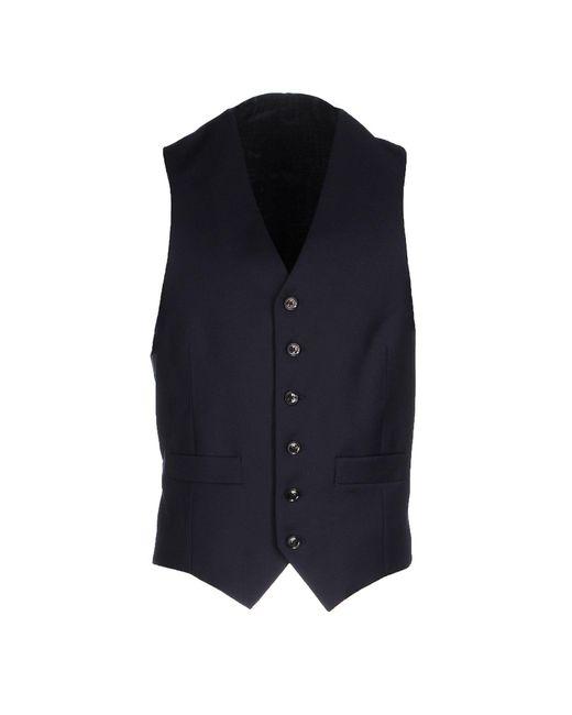 Hardy Amies - Blue Vest for Men - Lyst