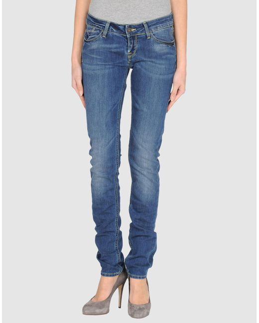 Meltin' Pot - Blue Denim Pants - Lyst