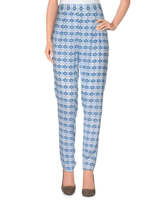 Pepe Jeans | Blue Casual Trouser | Lyst