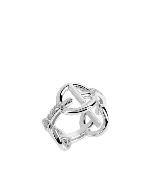 Emporio Armani - Metallic Rings - Lyst