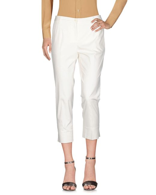 Dolce & Gabbana - White Casual Pants - Lyst
