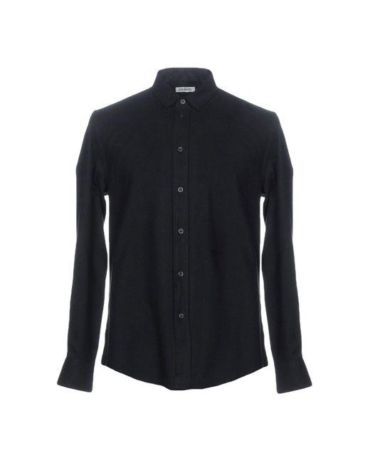Bikkembergs - Blue Shirt for Men - Lyst