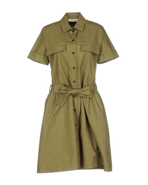 Suoli | Green Short Dress | Lyst