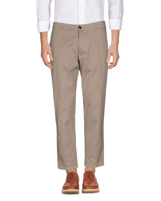 Department 5 - Natural Casual Trouser for Men - Lyst
