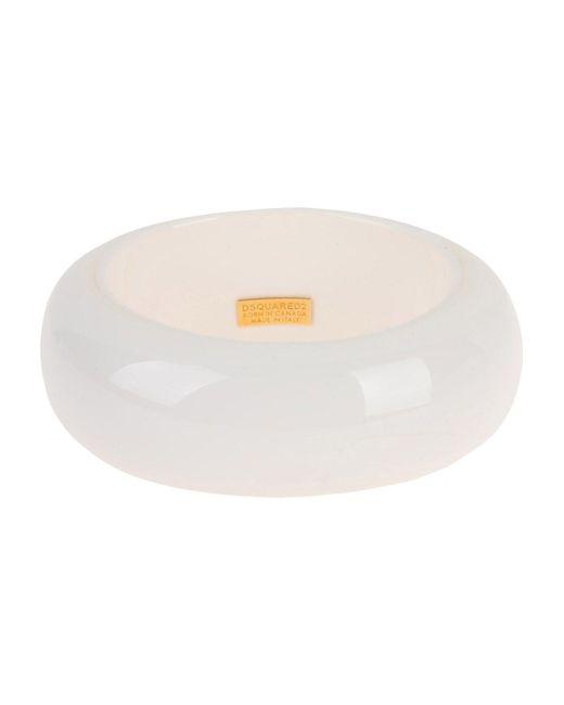 DSquared² - White Bracelet - Lyst
