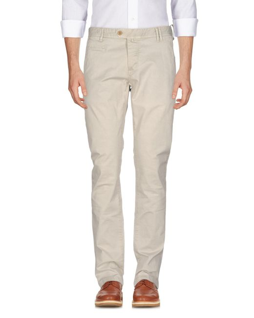 AT.P.CO - White Casual Pants for Men - Lyst