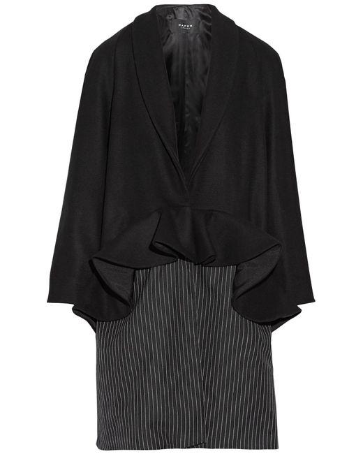 Paper London - Black Coat - Lyst