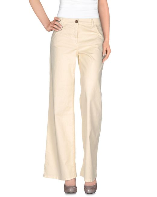 Jucca | Natural Casual Trouser | Lyst