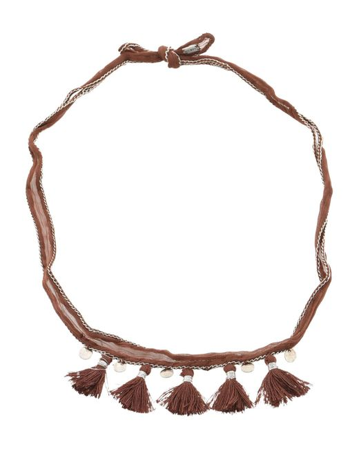 Chan Luu - Brown Necklaces - Lyst