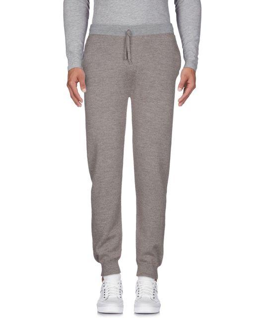 Alpha Studio - Gray Casual Pants for Men - Lyst
