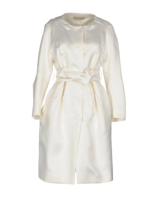 Emilio Pucci - White Overcoats - Lyst