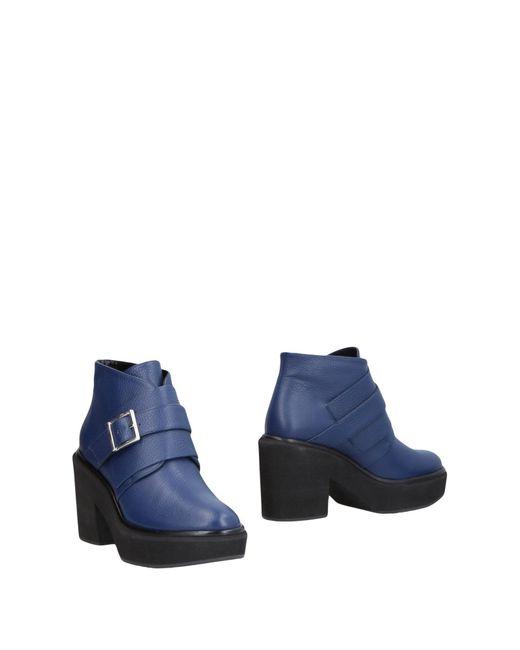 Paloma Barceló - Blue Ankle Boots - Lyst