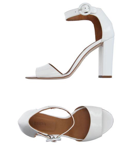 Brera Orologi | White Sandals | Lyst
