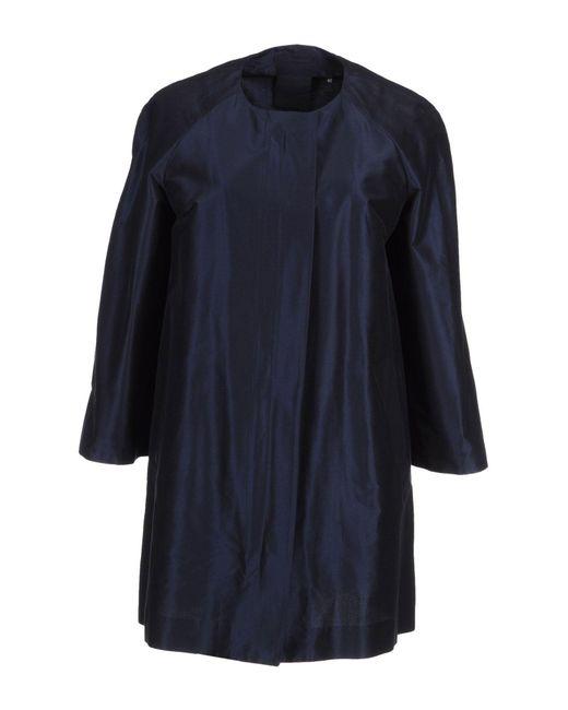 Aspesi - Blue Overcoat - Lyst