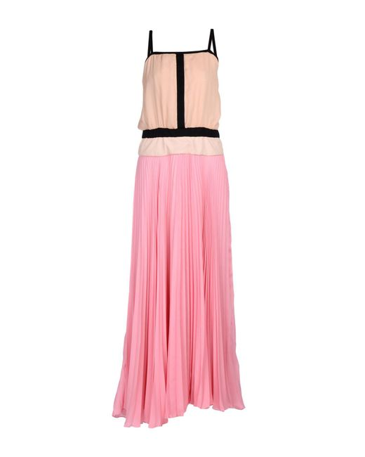 Ki6? Who Are You? - Pink Long Dress - Lyst