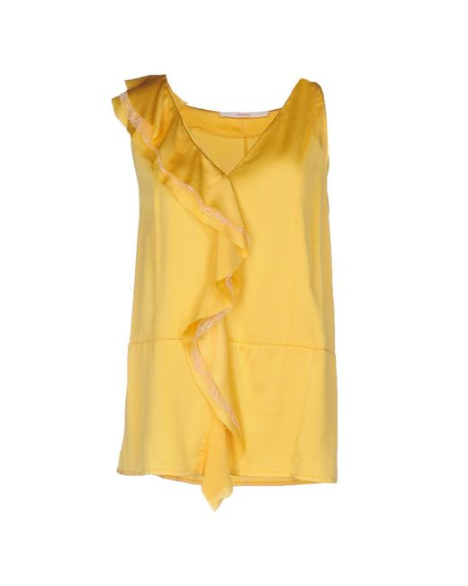 Jucca - Yellow Top - Lyst