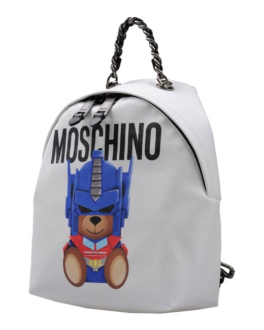 Moschino - White Backpacks & Bum Bags - Lyst