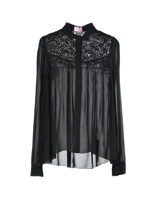 Giamba - Black Shirt - Lyst