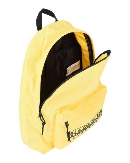 Lyst - Napapijri Backpacks   Bum Bags in Yellow for Men