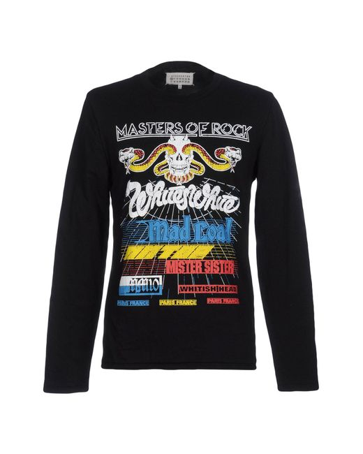 Maison Margiela - Black Sweatshirts for Men - Lyst