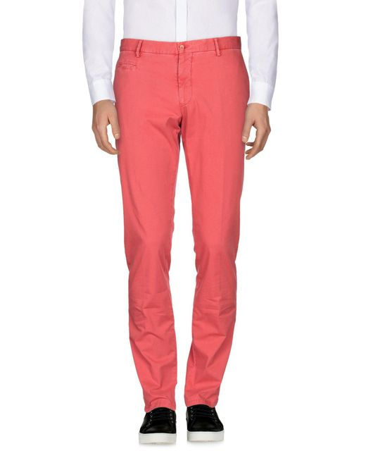 Altea - Red Casual Pants for Men - Lyst