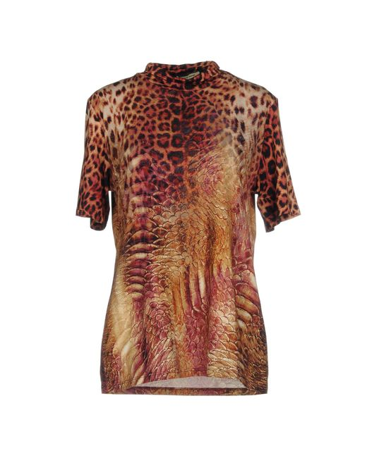 Angelo Marani - Multicolor T-shirt - Lyst