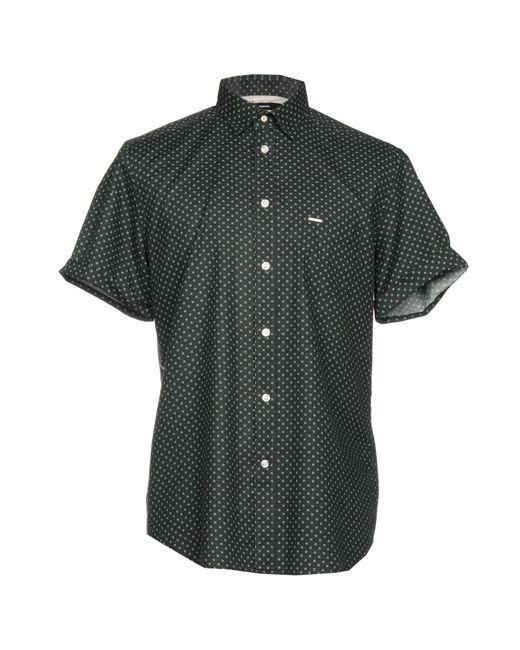 DIESEL - Black Shirts for Men - Lyst
