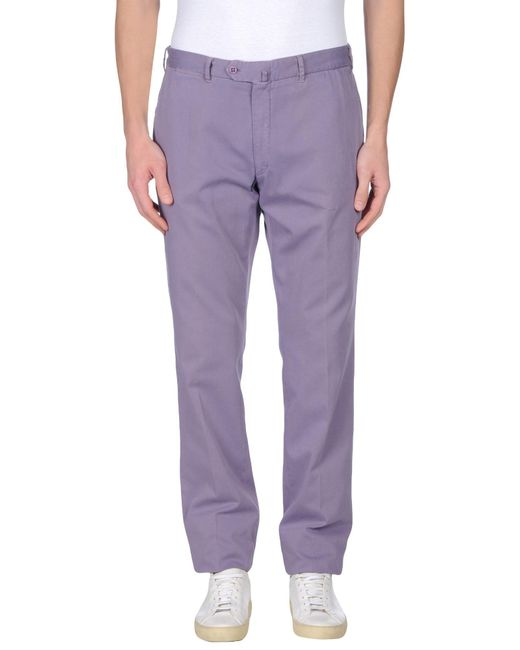 Valentini - Purple Casual Pants for Men - Lyst