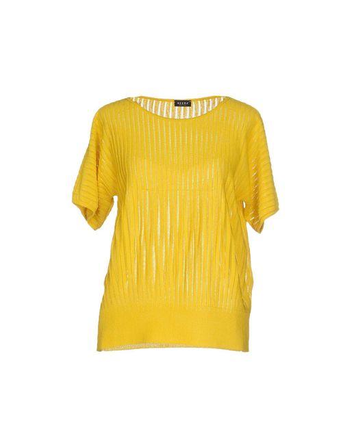 Neera - Yellow Sweater - Lyst