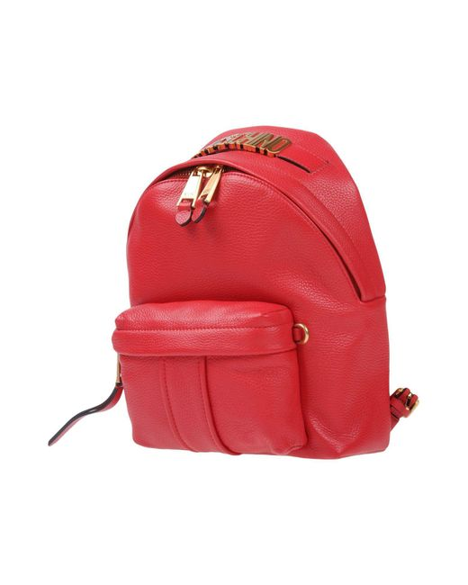 Moschino - Red Backpacks & Bum Bags - Lyst