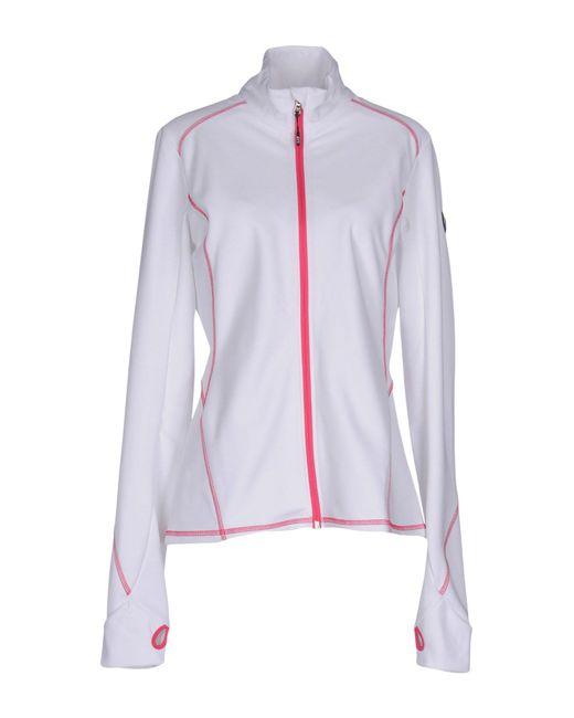 EA7 - White Sweatshirts - Lyst