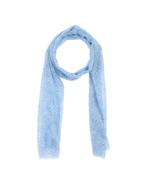 Breuer - Blue Scarf - Lyst