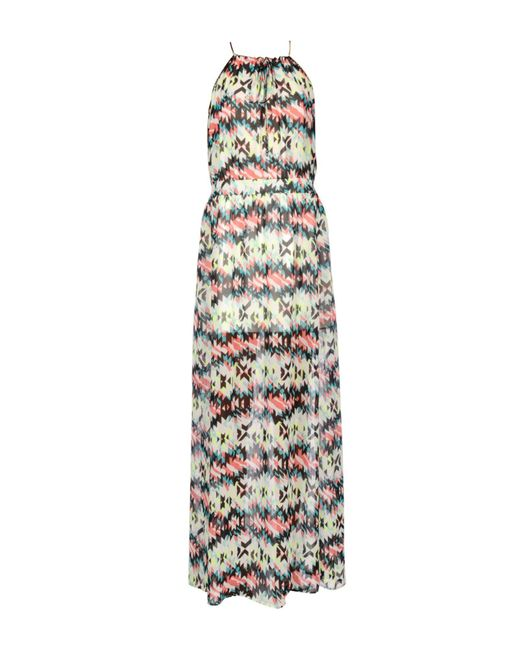 Pepe Jeans - White Long Dress - Lyst