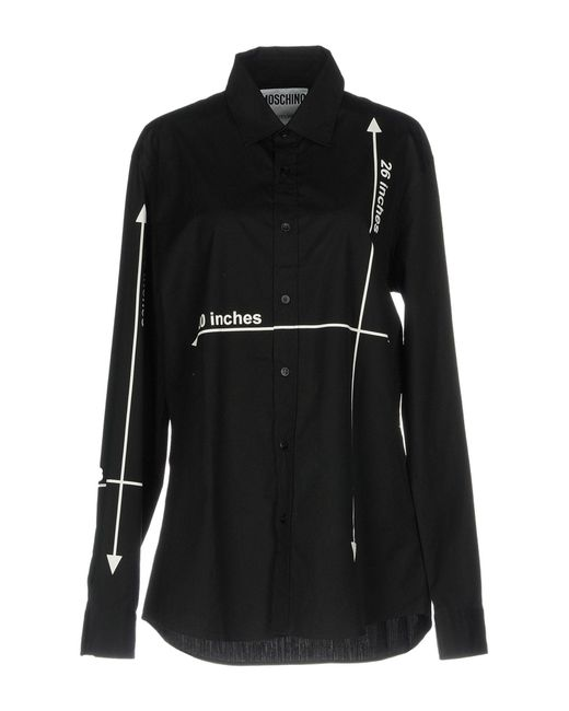 Moschino - Black Shirts - Lyst