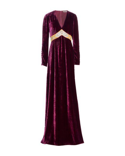 Amen - Purple Long Dress - Lyst