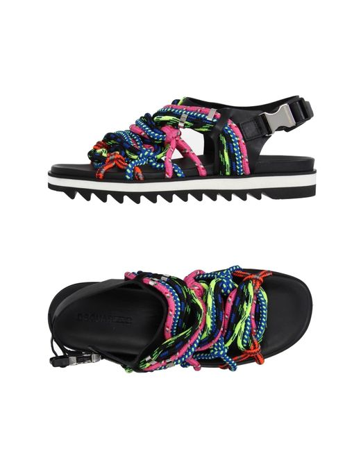 DSquared²   Multicolor Sandals   Lyst