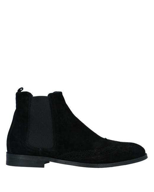 Royal Republiq Black Ankle Boots for men