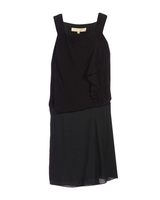 Vanessa Bruno - Black Short Dress - Lyst