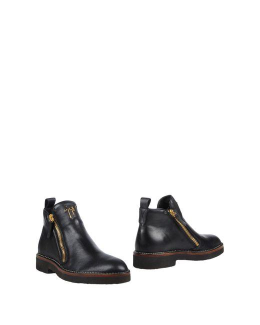 Giuseppe Zanotti - Black Ankle Boots for Men - Lyst