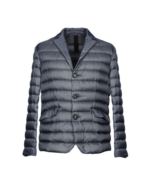 Historic - Gray Down Jackets for Men - Lyst