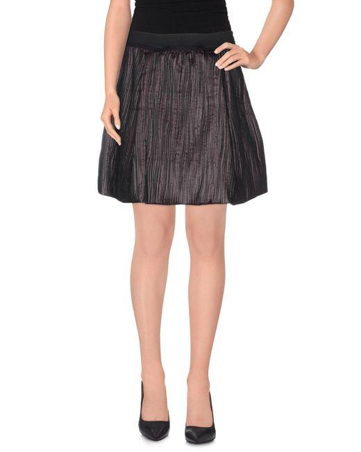 Jijil | Gray Mini Skirts | Lyst