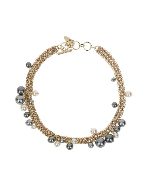 Lanvin - Gray Necklace - Lyst