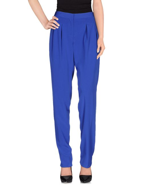 Blugirl Blumarine - Blue Casual Pants - Lyst